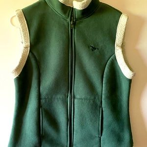 Shyanne Small Sherpa lined vest